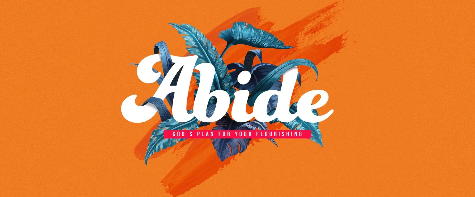 Abide SLIDER page